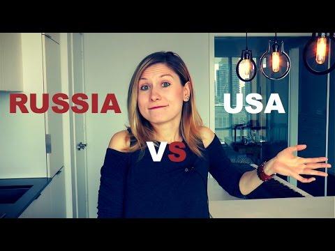 Russia VS USA - Surviving in Russia Guide - LEARN RUSSIAN