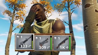 *EXTREMELY HARD* | USING POWER LEVEL 1 WEAPONS ONLY | Fortnite Save The World