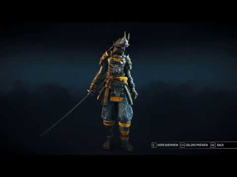 For Honor Orochi [Reputation 15] 108 Gear/Features/Inventory/purchasing