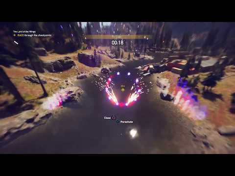 Far cry 5 - The Lord of The Wings - Wingsuit Race - Clutch Nixon