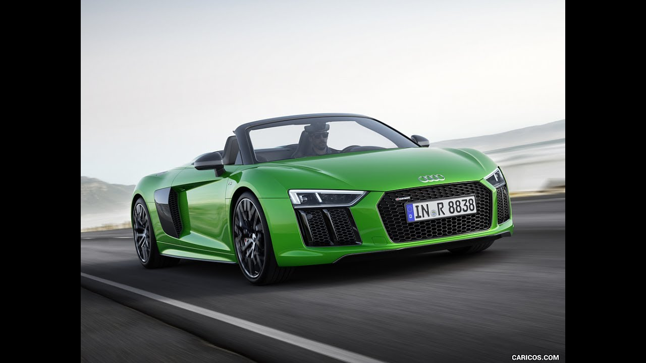 2018 Audi R8 Spyder V10 Plus Price Specifications Youtube