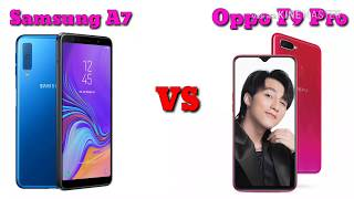 Samsung Galaxy A7 vs Oppo F9 Pro Comparison || Specs and Features Overview || AS Talent Zone