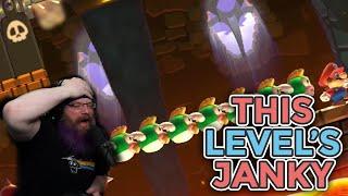THIS LEVEL'S JANK! | Super Mario Maker 2 - Expert No Skip Challenge with Oshikorosu [36]