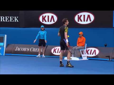 FULL MATCH 2013 Australian Open – Men's Singles Semi Finals Federer v Murray
