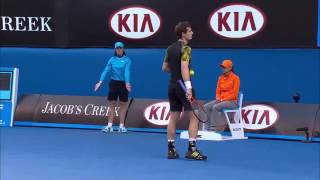 FULL MATCH 2013 Australian Open – Men's Singles Semi Finals Federer v Murray