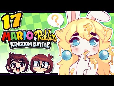 OH NO! IT'S ALL STICKY!! / Mario + Rabbids Kingdom Battle / Jaltoid Games