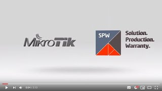 Тренинги MikroTik от компании SPW