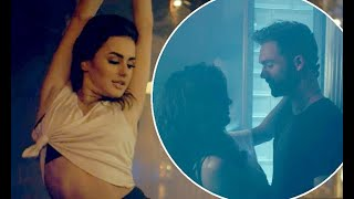 Amber Davies gets very steamy with Andy Brown in saucy music video