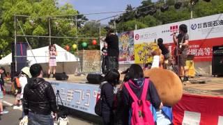 日本の夏、少年カミカゼの夏でござる。 お城まつりのライブを拙者も楽し...