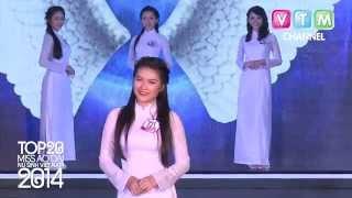 AD2014 - Top20 Miss Ao dai Nu sinh Viet Nam