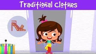 Traditional Clothes | Indian Culture & Tradition For Kids | Jalebi Street | Full Episode