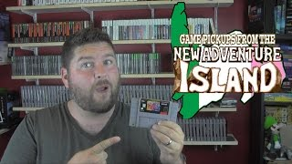 game pickups from the new adventure island ain t no party like a snes club party