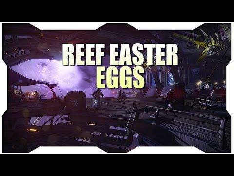 Destiny House of Wolves Easter Eggs - Reef Easter Eggs!