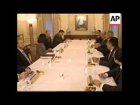 Rice meets the Egyptian foreign minister