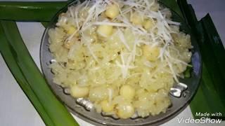 Cách làm xôi lá dứa hạt sen rất đơn giản mà thơm ngon tuyệt vời