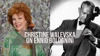 Christine Walevska on Ennio Bolognini - The Voices of Latin American Cello