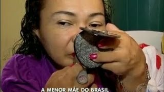 Menor mãe do Brasil mede 79 centímetros