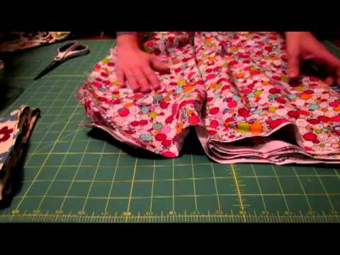 ASMR-Cutting & Folding Fabric
