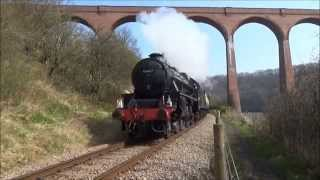 North Yorkshire Moors Railway Easter 2015 - Steaming to Whitby