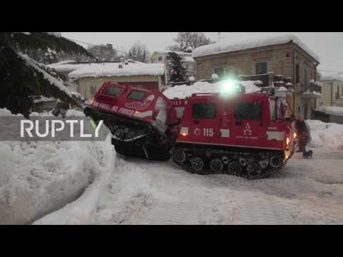 Italy: Many feared dead after avalanche hits luxury ski resort