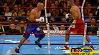 Boxing - Roy Jones Jr vs Glen Kelly - RD 7 KO