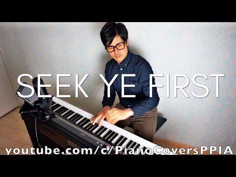 Seek Ye First The Kingdom Of God Keyboard Chords By Catholic Mass