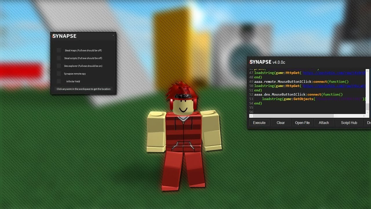 ROBLOX: How to copy games with synapse