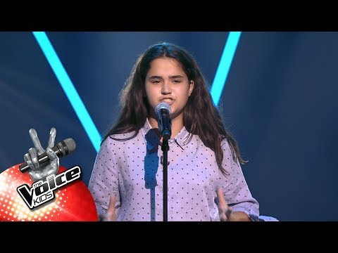Victoria - Je Suis Malade  Blind Auditions   The Voice Kids  VTM
