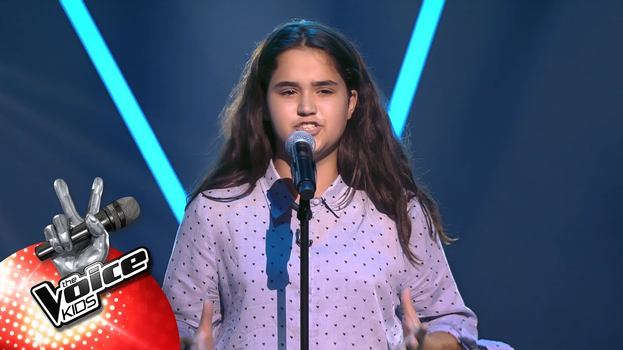 Victoria - 'Je Suis Malade | Blind Auditions  | The Voice Kids | VTM
