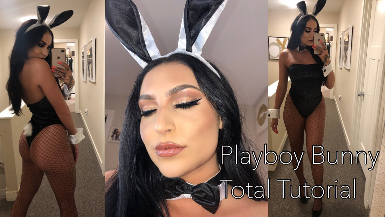 Womens Playboy Bunny Witch Costume