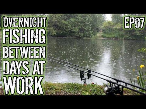 Carp Fishing On The Long Lake.  EP07