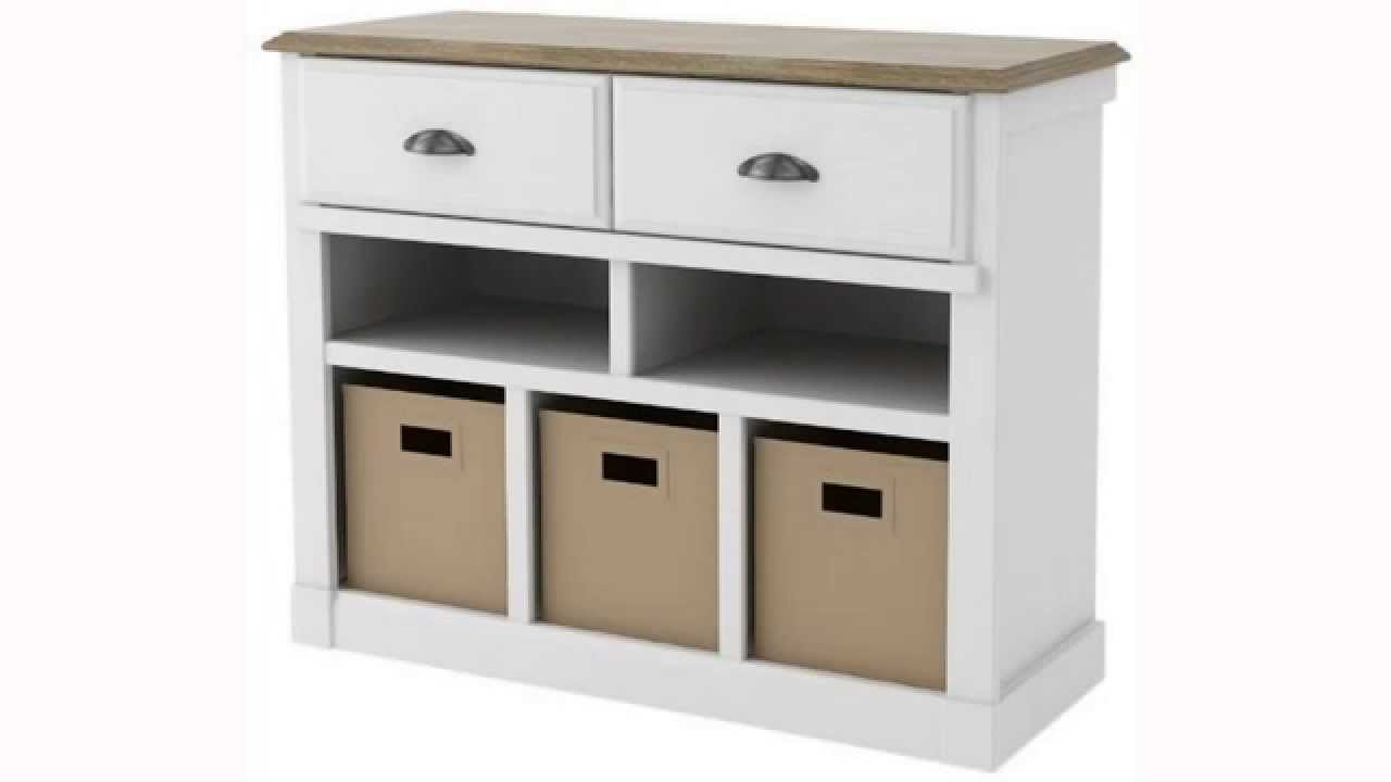 Get Ameriwood Entry Hall Storage Console Federal White