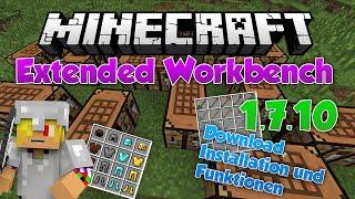 Minecraft Mod: Extended Workbench 1.7.10 [German] Download, Installation und Funktionen