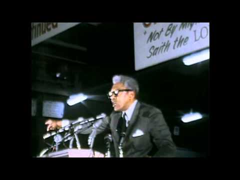 Bayard Rustin Speaks