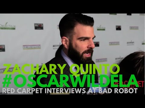 Zachary Quinto interviewed at the 12th Annual Oscar Wilde Awards #OscarWildeLA