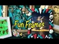 DIY crafts for girls and kids - cool room decorating ideas - Fun Frames
