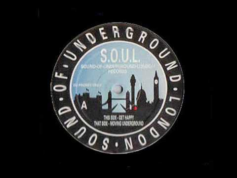 Moving Underground - Underground Solution - Sound Of Underground London Records (Side AA)