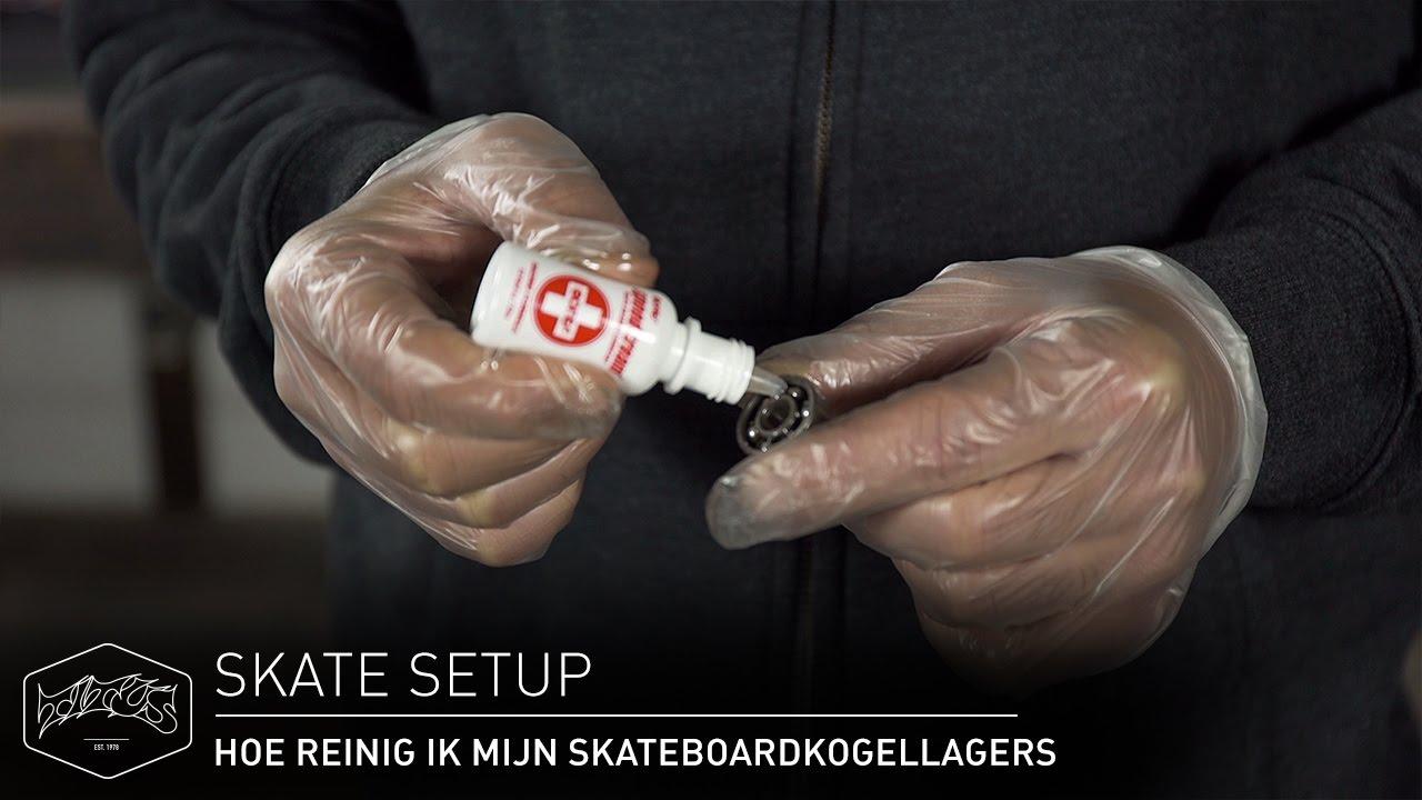 97ae56a4573 HOE REINIG IK MIJN SKATEBOARDKOGELLAGERS - Skate Setup | Titus - YouTube