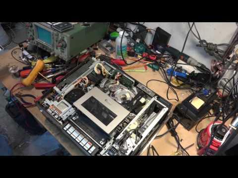 Sony SL8600 Vintage Betamax Repair