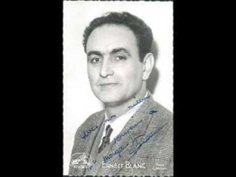 """Ernest Blanc, """"Toreador Song,"""" Carmen"""