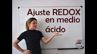 Ajuste de reacción redox en medio ácido por el método del ion-electrón