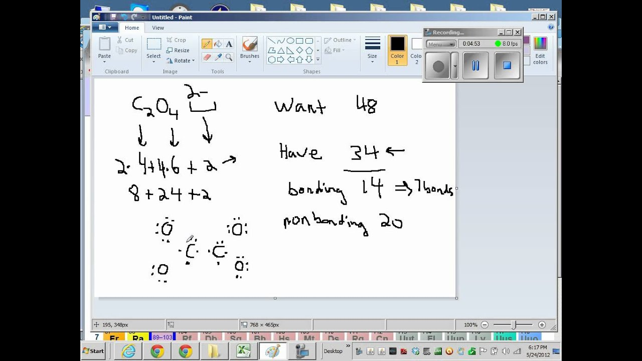 C2O4 2 Lewis Structure + Geometry - YouTube Xeo3 Lewis Structure Geometry