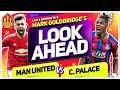 Man Utd vs Crystal Palace! Solskjaer's Big Decision! Man Utd News