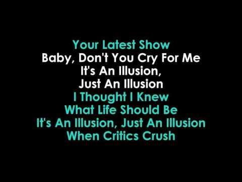 Julia Zahra  Just An Illusion lyrics Karaoke