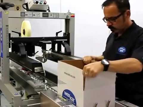 Belcor BEL 252 Fully Automatic Top & Bottom Case Tape Sealer