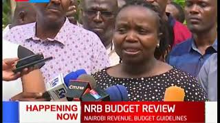 County Executive members on Revenue and Budget guidlines for Nairobi