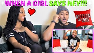 "sWooZie ""When A Girl Texts You Hey or Heyy"" REACTION!!!"