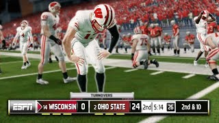 Our BIGGEST Game Of The Year Against Ohio State.. NCAA Football 14 Road To Glory