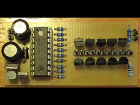 Часы на ИН-8 + ИН-17 - YouTube