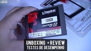 Unboxing e Review: SSD Kingston V300 120GB + Info. sobre revisões síncronas/assíncronas PT-BR thumbnail